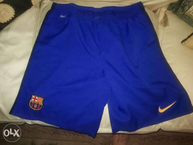 Barcelona Nike short original size XL NEW Dri- Fitشورت برشلونة جديد