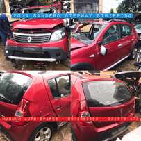 2014 Sandero stepway stripping for spare parts