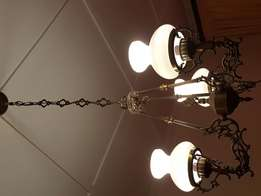 Antique chandeliers x 2