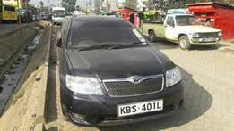 Black Toyota fielder on sale