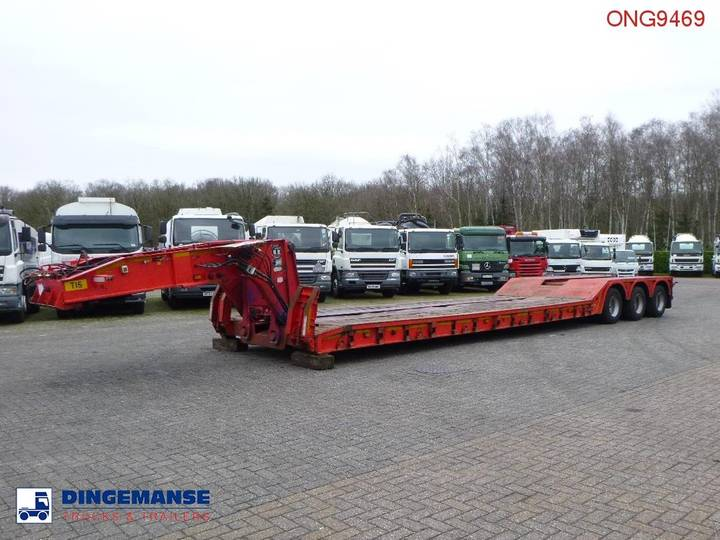 King Semi-lowbed trailer GTL70 / 7.3 m / 70 t - 2004