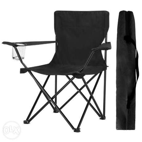 Brand New Folding Chair with Arms Holder