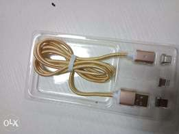 Buy The New Magnetic USB Data Cable For Charging of Phones.
