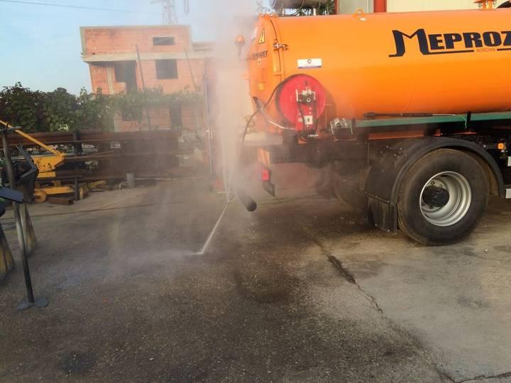 VIDANJA combinata combination sewer cleaner
