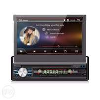 1 Din WiFi Android Car Streo / Radio 7'' Touch Screen + Reverse Cam
