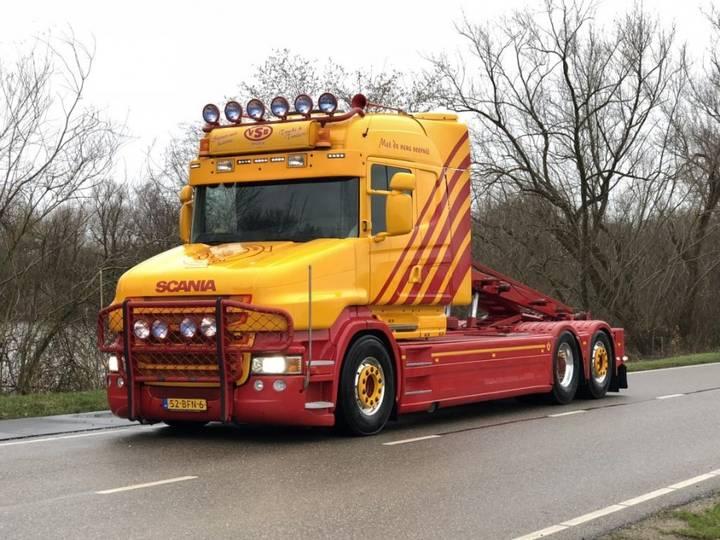 Scania T500 v8 Torpedo 6x2 Nch hts kabelsysteem - 2010