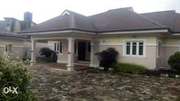 Executive 4bedroom bungalow with BQ At Peter Odili