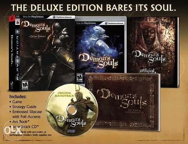 [RARE] Demon's Souls Deluxe Edition (with Artbook) - US/R1 - PS3 (NEW) القرين -  4