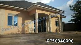 Spacious 3 bedroom standalone in namugongo at 800k