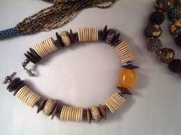 African Crafted Jewelry various pieces