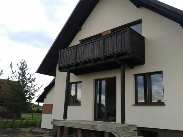Balkon Wiszący Na Słupach Podest Taras Zblewo Olxpl