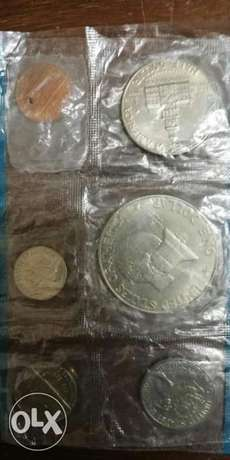 Set of Six USA Coins for the 200th Anniversary of the independence