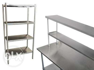 Stainless steel kitchen shelf all item all size available