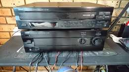 SUPERB SOUND ! Yamaha Natural Sound Amplifier and 5 CD Changer !