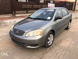 Direct Tokunbo Toyota Corolla 2003 *Dealership Price*