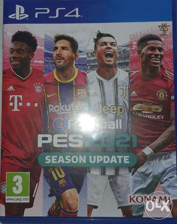 Pes 21 for ps4