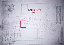 1748 Sqmts Residential Plot for Sale at Bagamoyo