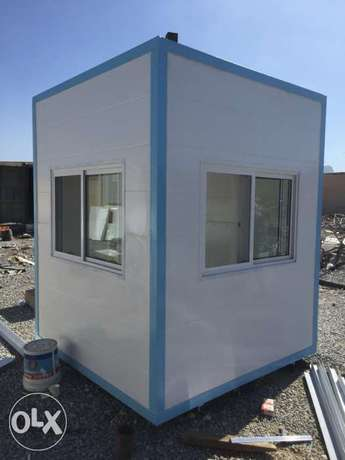 Sandwich Panel Security Cabins