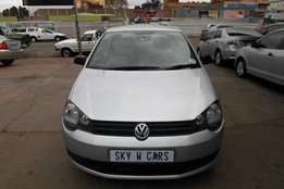 VW Polo Vivo 1.4 HB 2012 model 83000km silver in color R78000