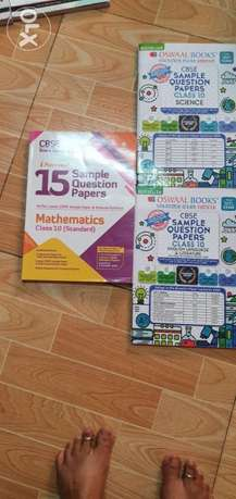 Class 10 cbse sample question papers 2021. Set of 5 books for QAR 30
