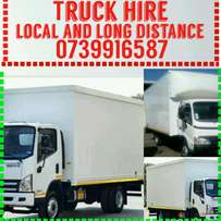 Truck for hire 4 tons