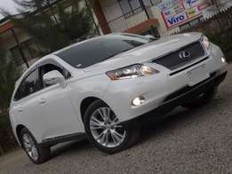 Lexus RX450H. 2010. With Sunroof