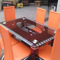 Dinning table by6 nd chair