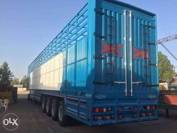 BRAND new BODY TRAILERS with more than 100 ton capacity
