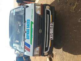 Toyota matatu on sale in excellent condition.