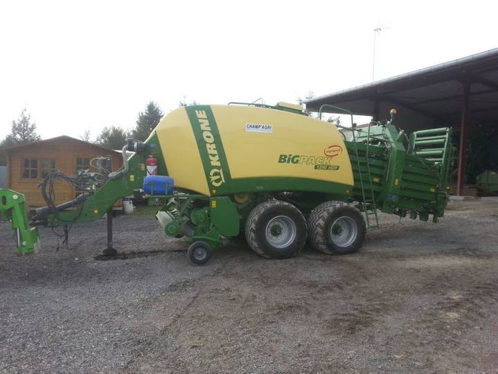 Krone 1290 hdp highspeed - 2013