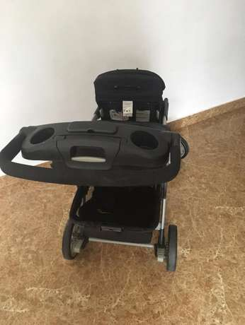 Fairly Used Chicco Cortina Together Double Stroller, Ombra Lekki - image 5