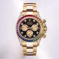 Rolex Cosmograph Daytona Rainbow Watch - Gold
