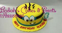 Birthday,wedding,disney character customised cakes all occasions