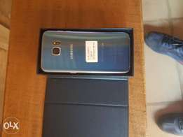 Brand new Samsung galaxy s7 edge coral blue for sale