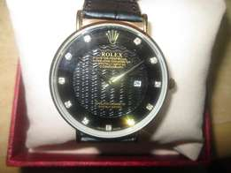 Rolex leather strap