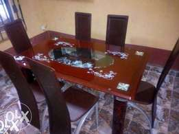 WS Six Sitter Brand New Exotic Dining Table(New)