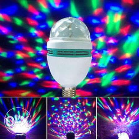 Party Light Rotating LED Stage Light Bulb