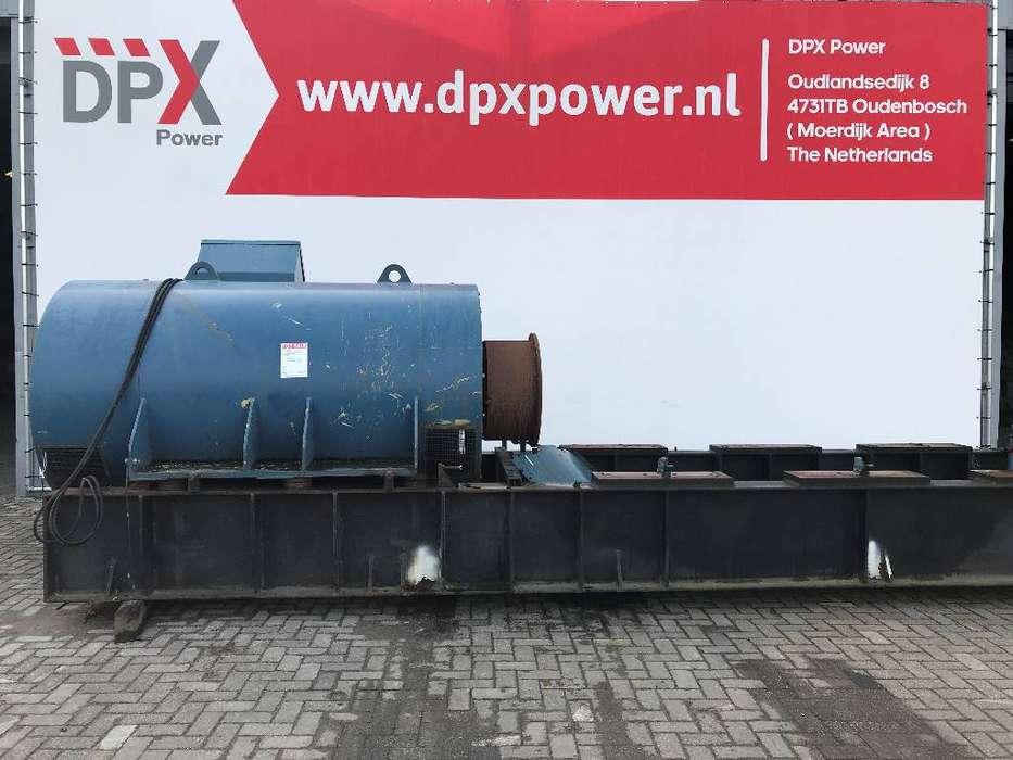 A. van Kaick 3.550 kVA Alternator - 10.000V - DPX- - 1988