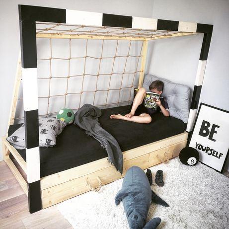 łóżko Dla Chłopca Bramka Piłka Nożna łóżko Dziecięce