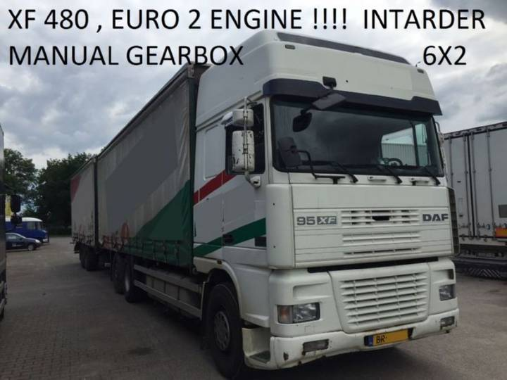 DAF Euro 2 , 480 Hp Manual Gearbox Intarder 817000 Km Holland - 2000