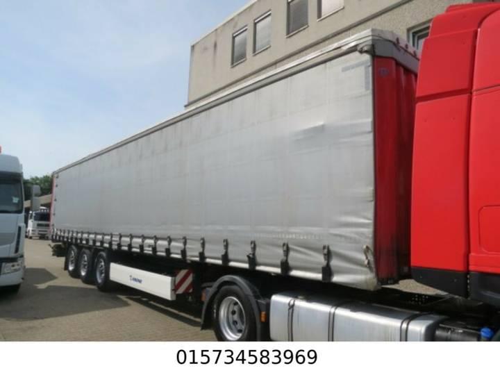 Krone SD 8.8m Coilmulde, Rungen,1 Lift- 1Lenkachse - 2012