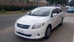 Toyota Corolla Fielder, X Package, 2010, 1500cc, R/Rails, R/Wiper,