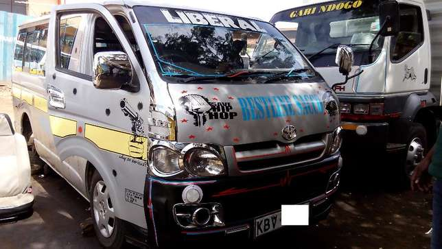 Toyota Hiace 7L Matatu (DIESEL) Trade in accepted Kisumu CBD - image 2