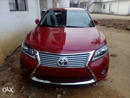 Toyota camry 2013(upgraded)