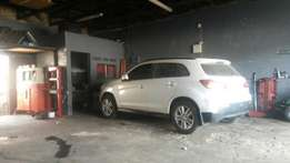 Silverton motor repairs is selling a mitsubishi 2014 to differ costs