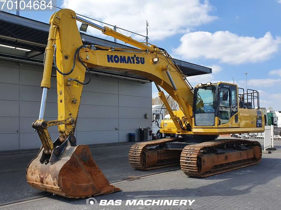 Komatsu PC 390LC-8M0 Hammer line - extendable undercarriage - 2016