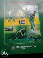 South Africa 2003 ICC Cricket world cup limited medallion collection