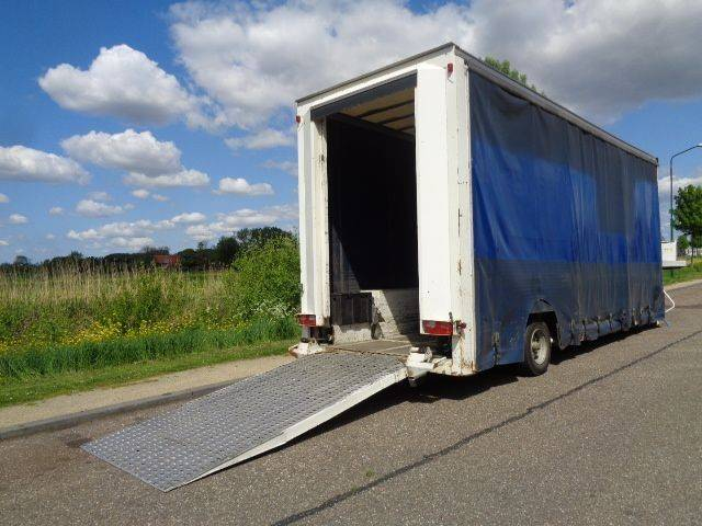 S/r 1-axle Lowbed / Curtainside / Loading Ramp - 2010