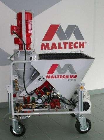 Maltech M5 Eco Plastering Machine - 2013