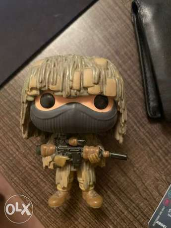 RARE Ghillie suit funko pop NEGOTIABLE الرياض -  1